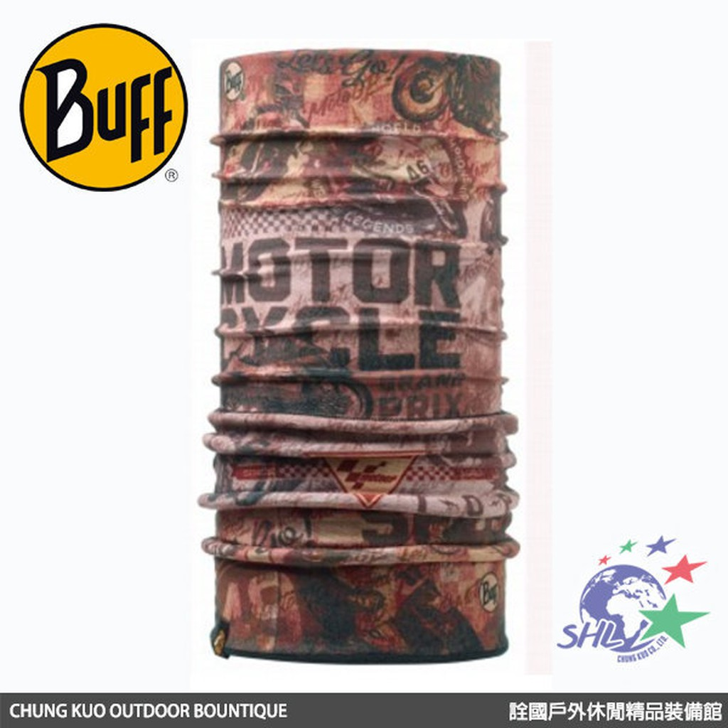 BUFF 頭巾 / 傳奇不滅 MOTO GP授權POLAR保暖頭巾 / BF110914 【詮國】