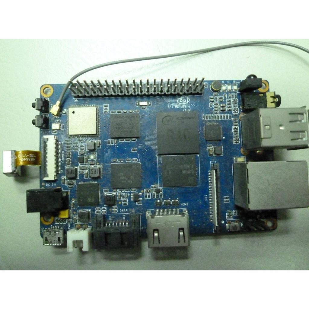 香蕉派 BPI-M2U(Banana Pi M2 Ultra)開發板