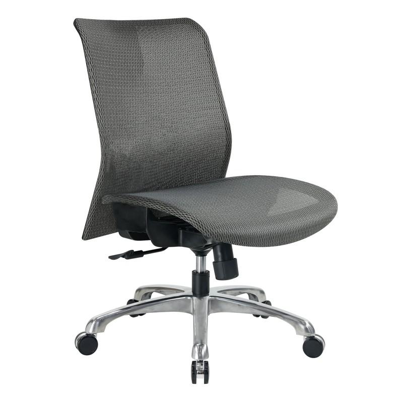【NB72-3】 尼克低背網椅 #NK03SGA