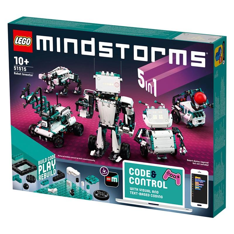 ⚡墨涵玩具⚡    LEGO 樂高 51515 新品機器人系列編程機器人拼插積木玩具    1013