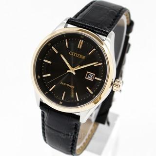 CITIZEN BM7254-12E 星辰錶 手錶 41mm 光動能 藍寶石 黑面盤 黑皮錶帶 男錶女錶