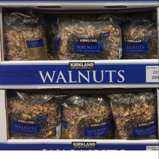 有發票 好市多 Kirkland Signature walnuts 無調味核桃 核桃 堅果(1360g)