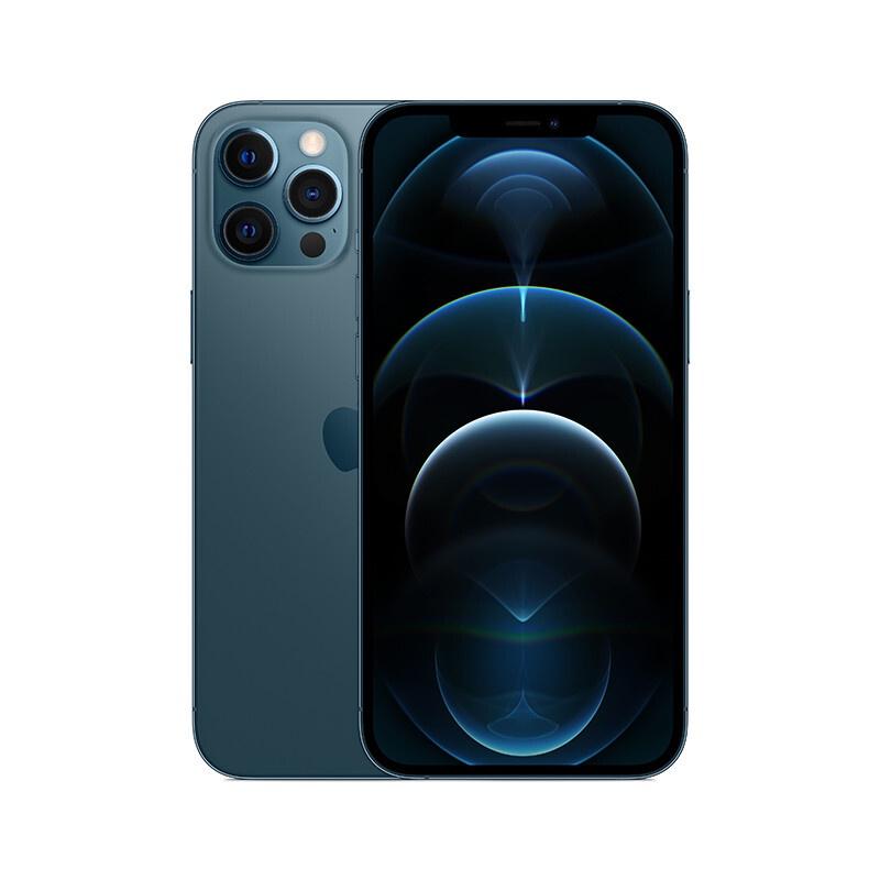 蘋果手機 官方正版 apple iphone 12 pro max(a2412)256gb海藍色5g雙卡雙待手機 蘋果