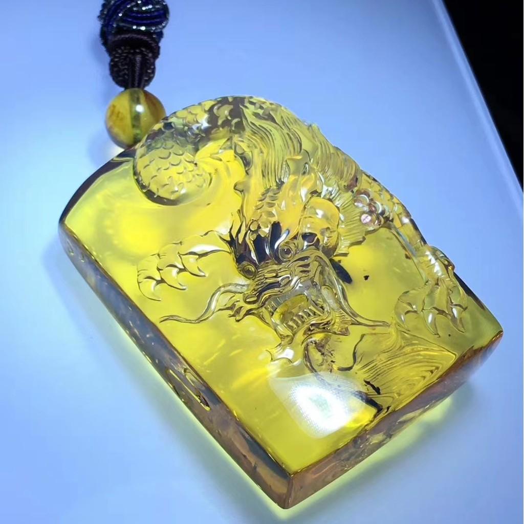 緬甸琥珀《雕刻》- 龍牌 ㊟ 購買前請詳閱商品內文 ㊟