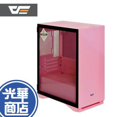 【免運附發票】MONTECH YAMA  DLM 22 粉色 電腦機殼 側掀式玻璃 磁吸 全新公司貨 DLM22