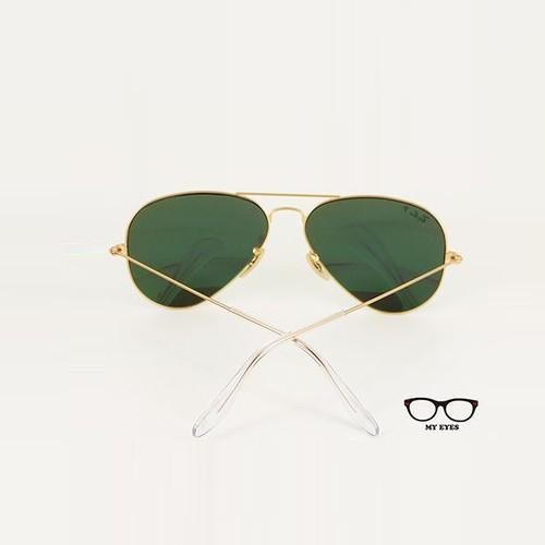 Ray Ban 雷朋經典品牌 彩綠偏光鏡面太陽眼鏡 (RB3025 112/P9)