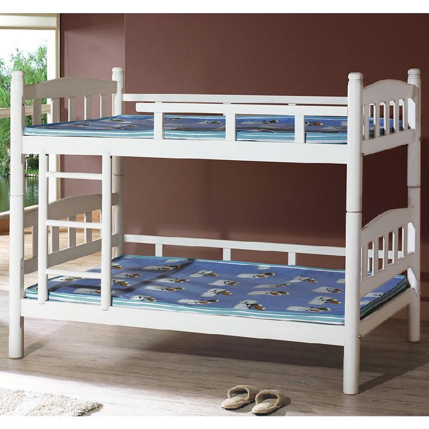 【113cm實木雙層床-K14-811】床底 單人床架 高腳床組 抽屜收納 臥房床組 【金滿屋】