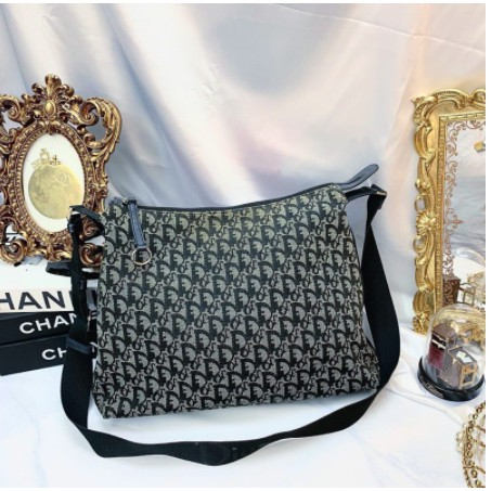 翰辰二手正品 Christian Dior vintage monogram handbag Dior 老花 書包斜背包
