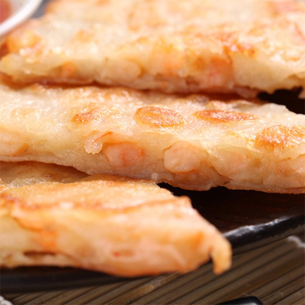【快樂大廚】黃金月亮蝦餅15片(附贈泰式酸辣醬)