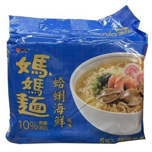 維力 媽媽麵 蛤蜊海鮮風味(80gX5入)[大買家]