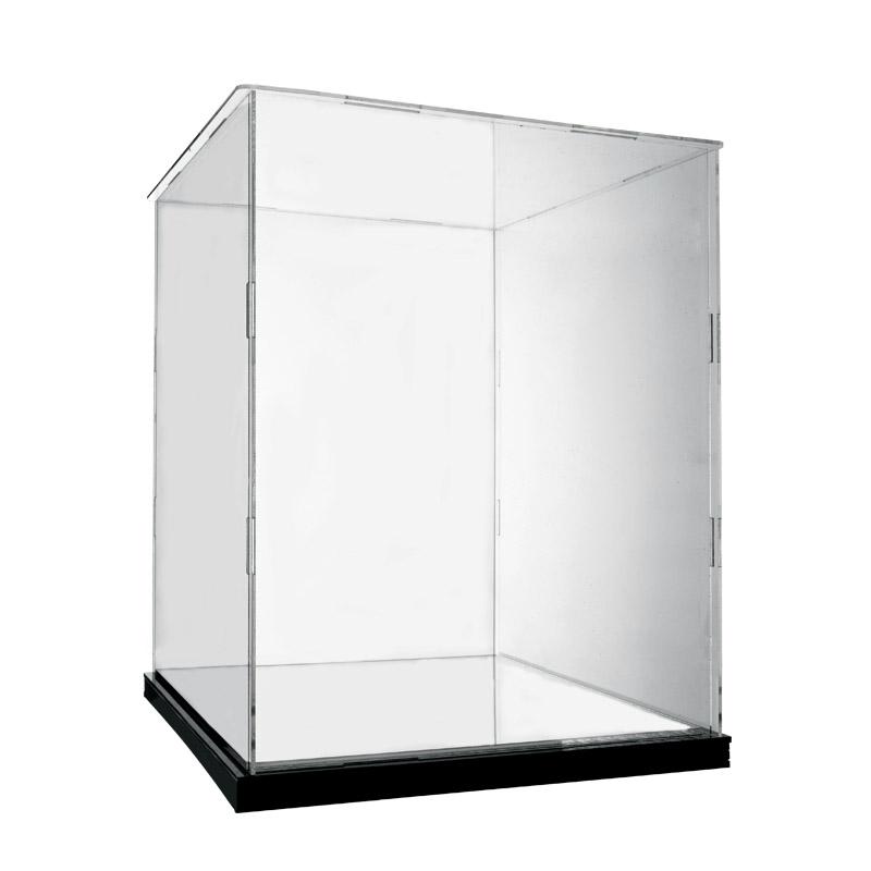 【收納盒】亞克力展示盒lego21020羅馬許願池積木模型手辦收納防塵盒透明