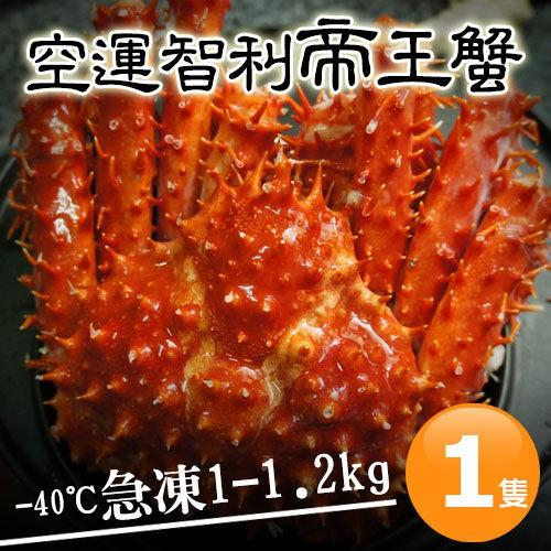 築地一番鮮-比臉大急凍智利帝王蟹(1-1.2KG/隻)