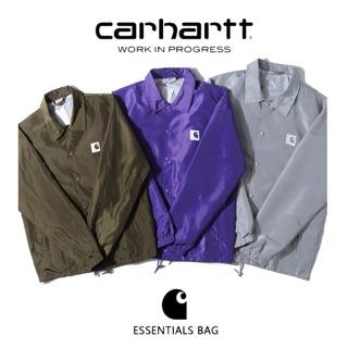carhartt卡哈特基礎款春季潮牌男女寬松上衣教練夾克防水薄款外套 台中市