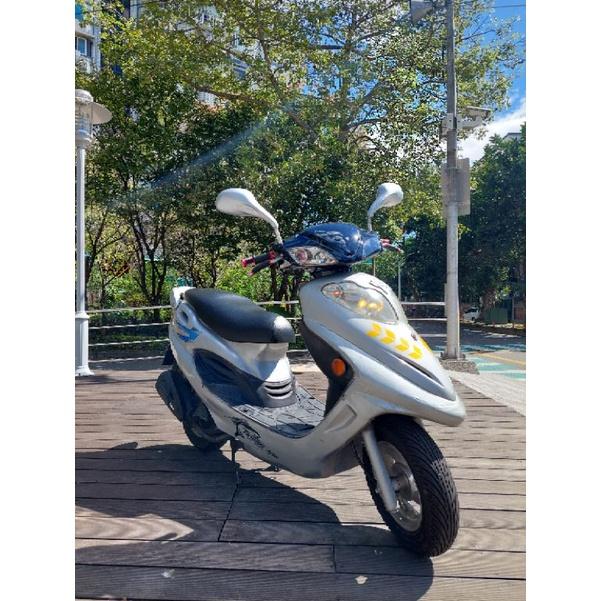 二手自售機車光陽125cc原廠粄件0955666607