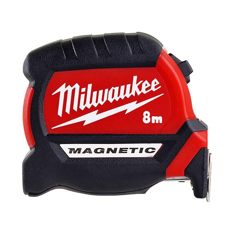 Milwaukee美沃奇 8m全公分磁性捲尺48-22-0608