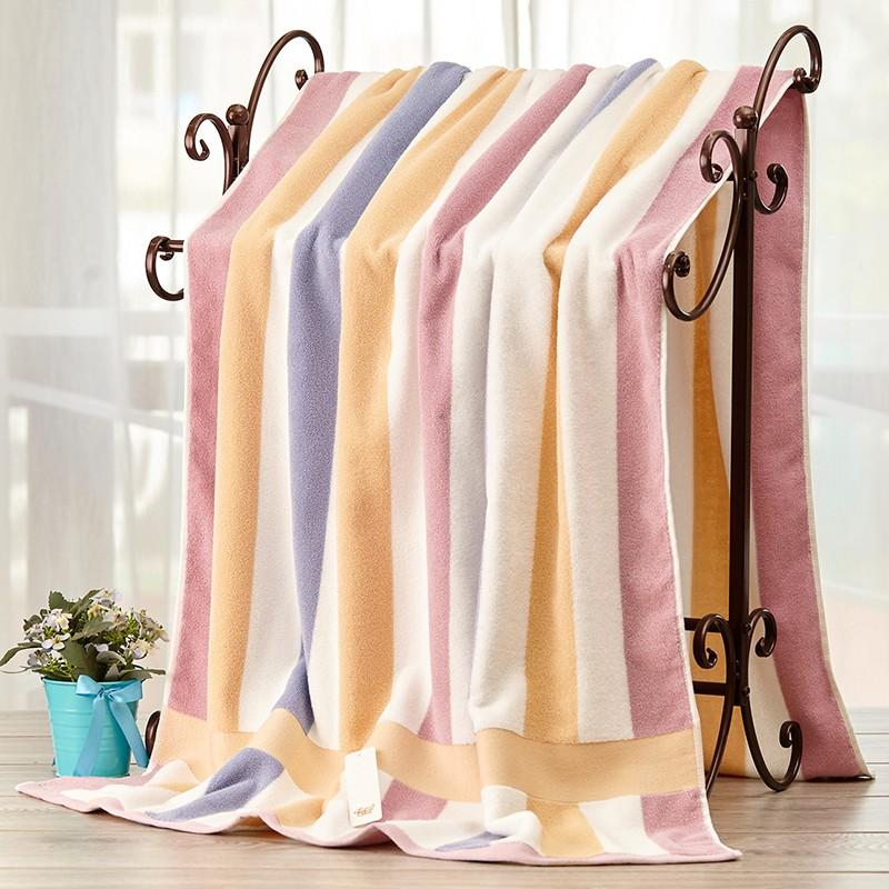 90x180浴巾家用全棉吸水速干不掉毛成人男洗澡毛巾男裹巾女超大號