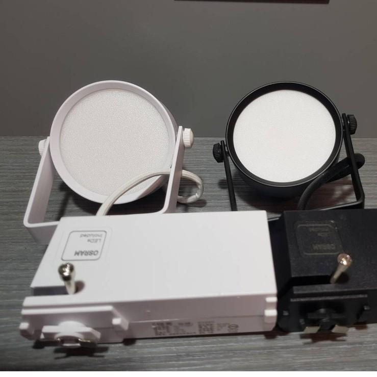 (U LIGHT) 含稅  LED 12W 自然光 全電壓 黑殼 柔光霧面 軌道燈 投射燈 散光 基礎照明
