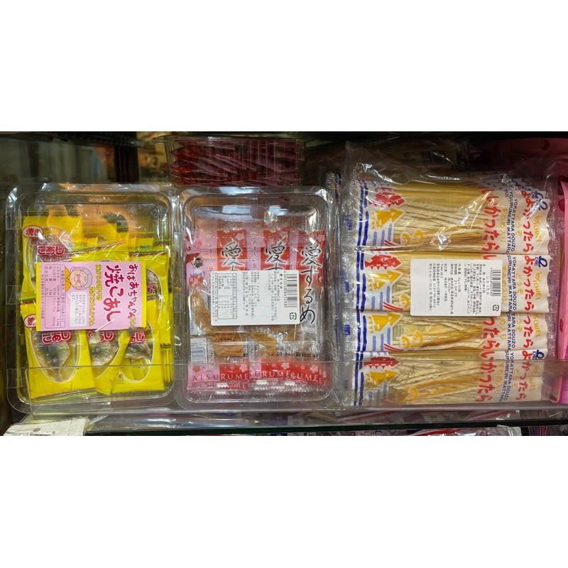 日本 一榮食品 婆婆竹莢魚乾(32入)/愛魷魚片(20入)/魷魚絲(30入)