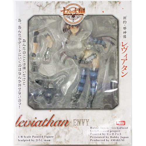 二手《日版》 Hobby JAPAN 七大罪 新約・邪神像 利維坦 通常版 1/8 比例模型 PVC 公仔