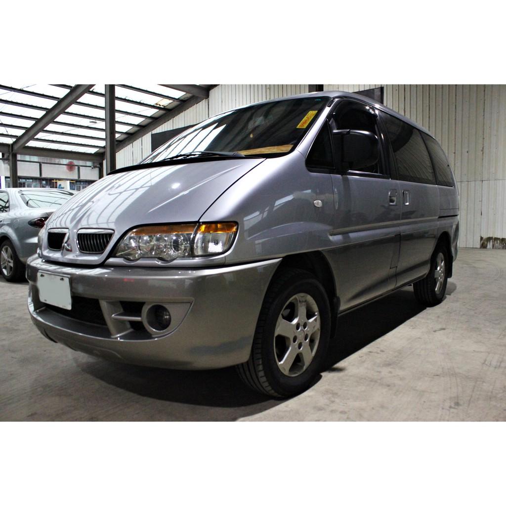 2007年 中華三菱 客貨車 Space Gear 2.4 自排 原漆原鈑 只跑8萬啊 現在不用20萬 俗到靠北邊去了!