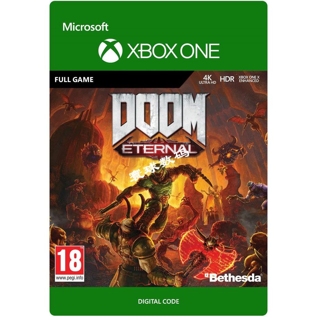 🏆🏆遊戲玩家🏆XBOXONE XBOX ONE正版遊戲 毀滅戰士5 永恆 DOOM5 下載碼 數位版XBOX數位版