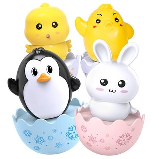 包郵不倒翁玩具寶寶3-6-9個月小孩兒童早教0-1歲嬰兒益智玩具