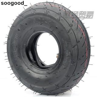 熱賣摩配 迷你摩托車配件 小四輪小沙灘車車輪胎3.00-4內外胎彎嘴內胎sx68