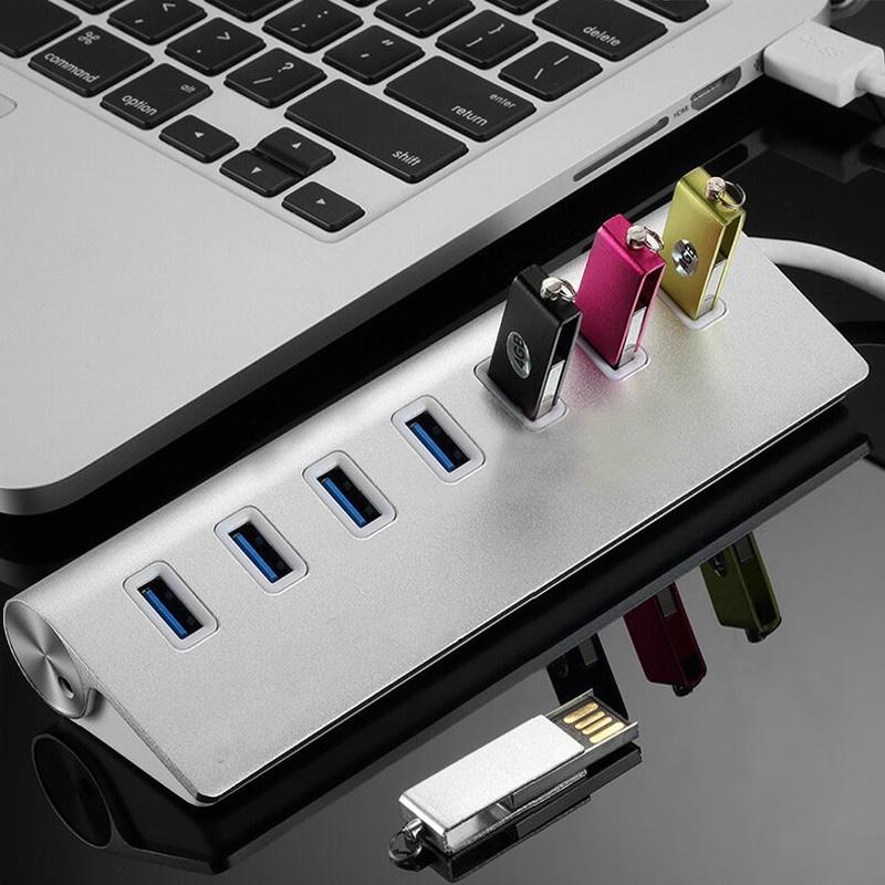 USB3.0分線器 斜面7口 3.0版本HUB集線器台式機筆記本USB3.0 hub轉接頭