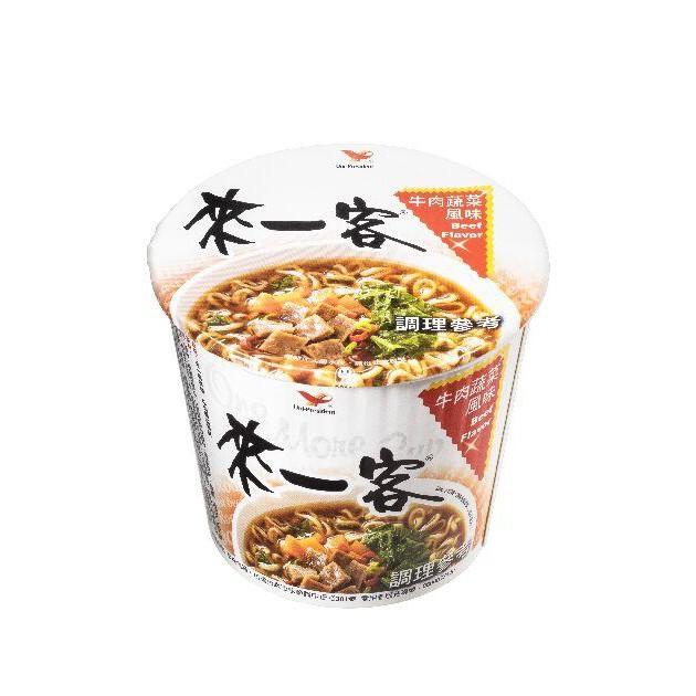 來一客杯麵_牛肉蔬菜風味(12杯/箱)超取限購2箱