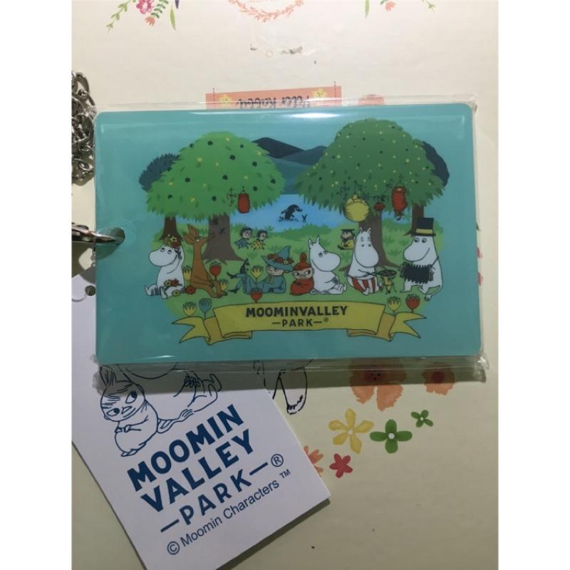 Moomin valley park 限定 卡套