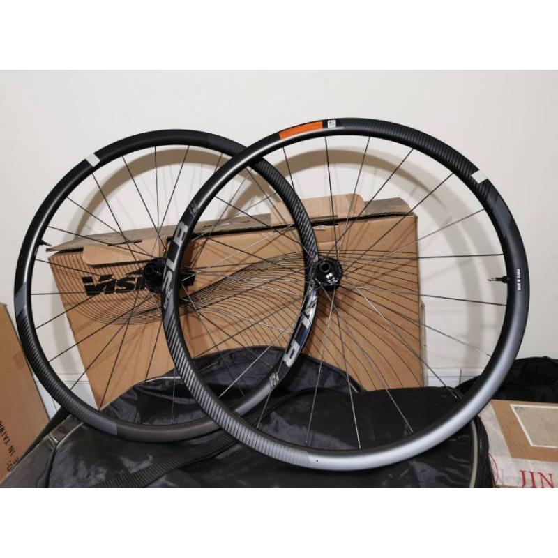 『時尚單車』(全新現貨包運費)GIANT SLR1 碳纖維 TL支援無內胎系統 碟煞 輪組