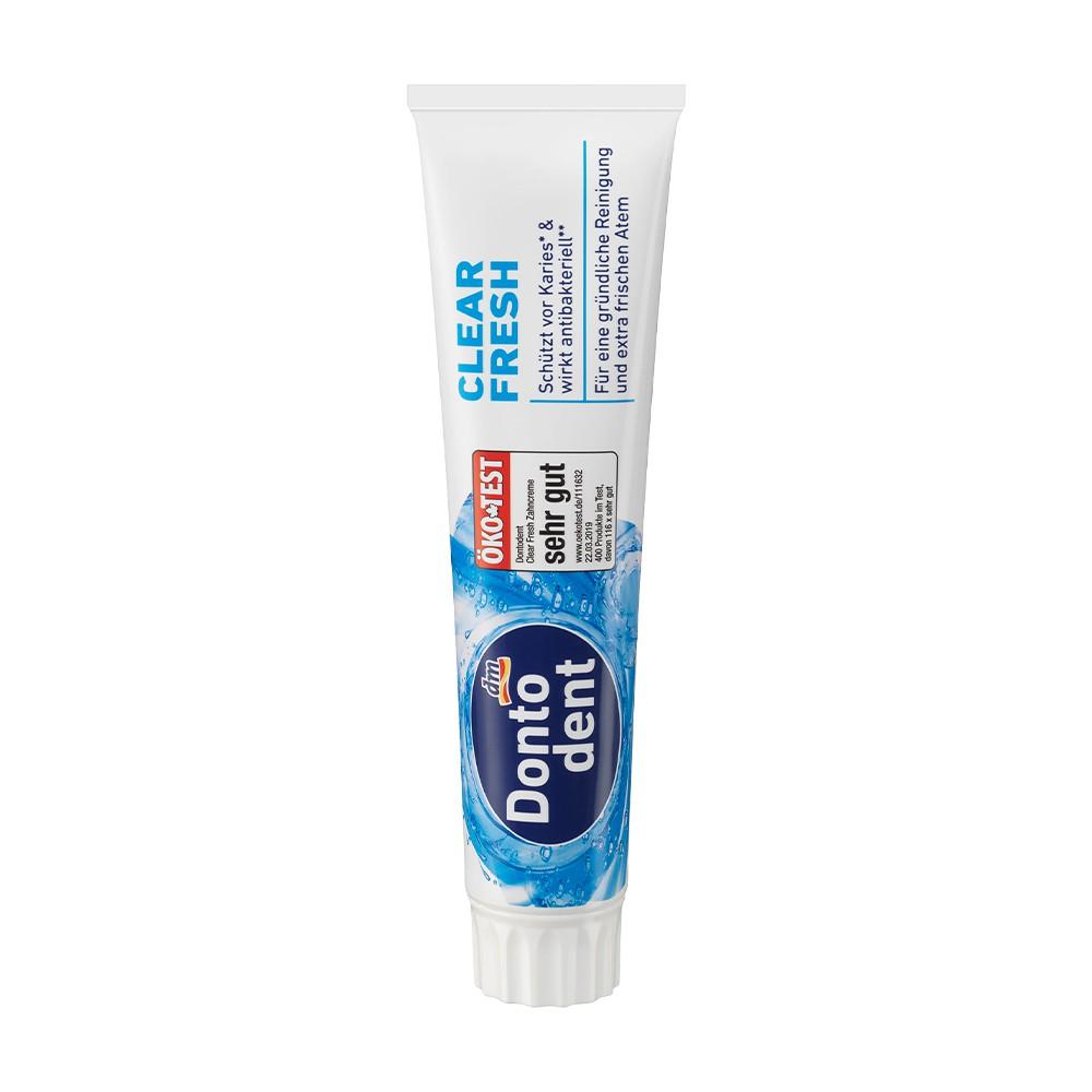 德國 Dontodent 全效含氟清新牙膏 125ml / DM (DM212)