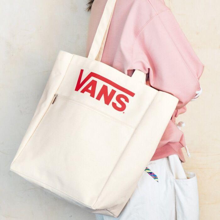 韓國VANS帆布包 手提包 斜挎包 女學生韓版百搭單肩多用帆布包ins原宿大容量布袋