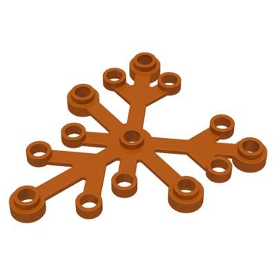 LEGO 樂高 暗橘色 2417 植物 樹葉 草 葉子 6x5 21318 樹屋 6039193 6283957