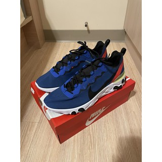 Nike React Element 55 男鞋 藍橘黃 BQ6166-403 臺南市