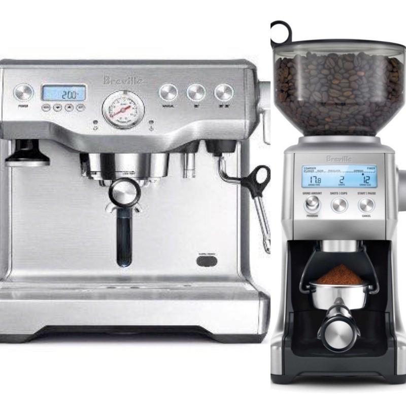 全新品 Breville bes920XL 義式咖啡機+義式定量磨豆機優惠組合 可沖煮濃縮/美式/拿鐵☕️