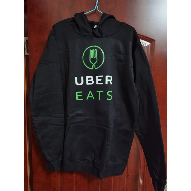 【少量特價】UBER EATS男士連帽T長袖衛衣