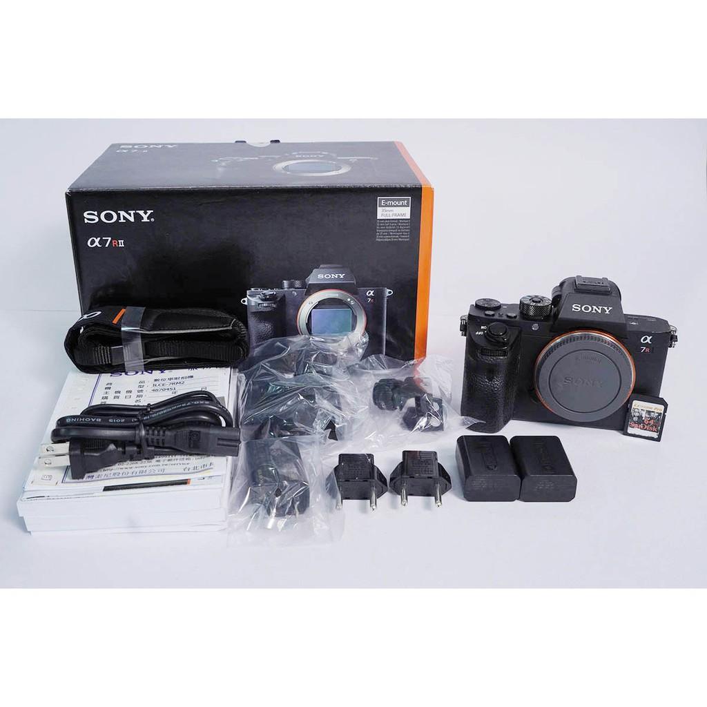 [攝手座二手器材] Sony A7RII A7R2單機身 快門97,789 公司貨過保 盒單齊