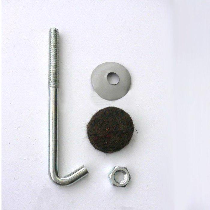 現貨附發票【singcoco】304材質 白鐵 不鏽鋼 石棉瓦勾釘 鉤釘 浪板 勾釘 鐵皮屋 鈎釘 一鈎釘 100支/包