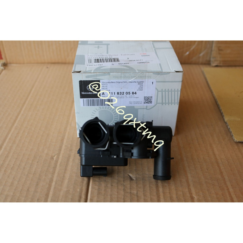 【恆偉】原廠  BENZ 賓士 A2118320584  熱水閥 W211