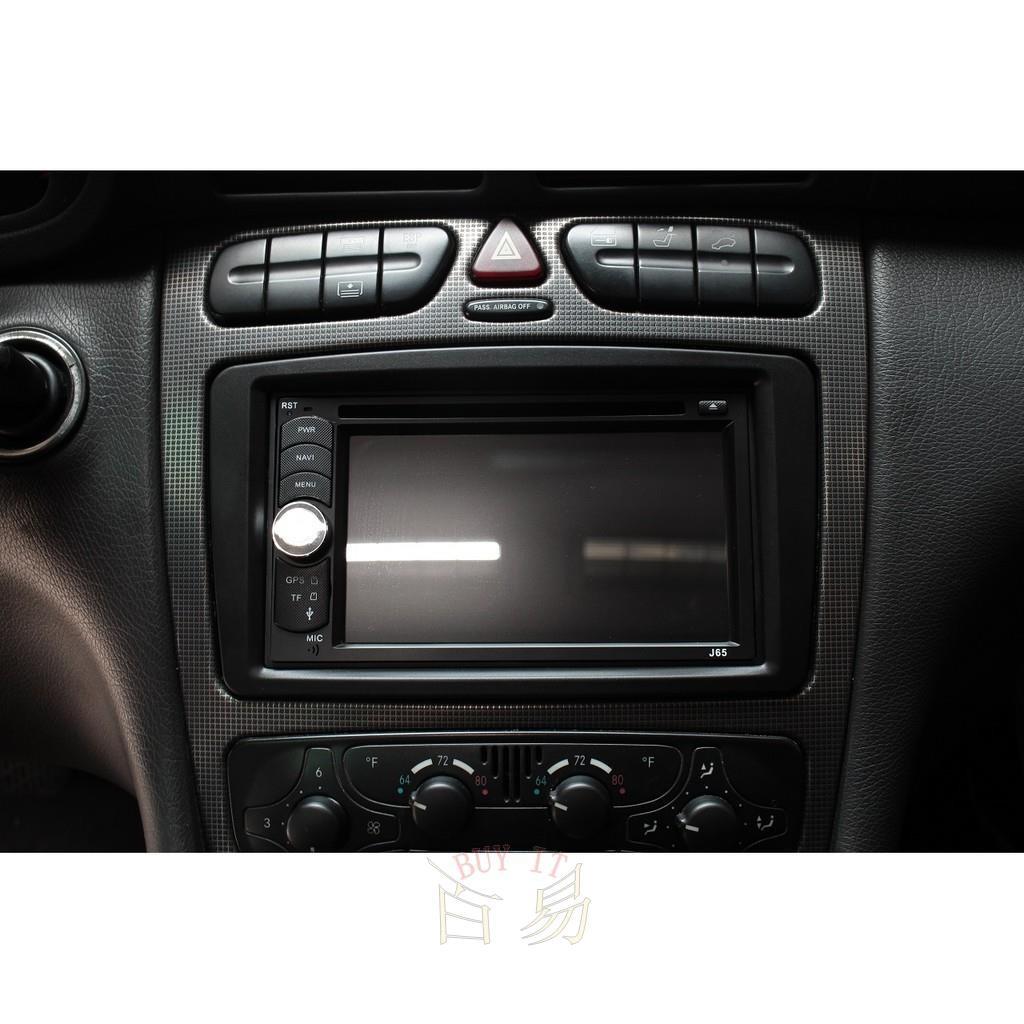 (2000~2004年) M.BENZ-W203 汽車音響安卓主機 觸控螢幕 衛星導航