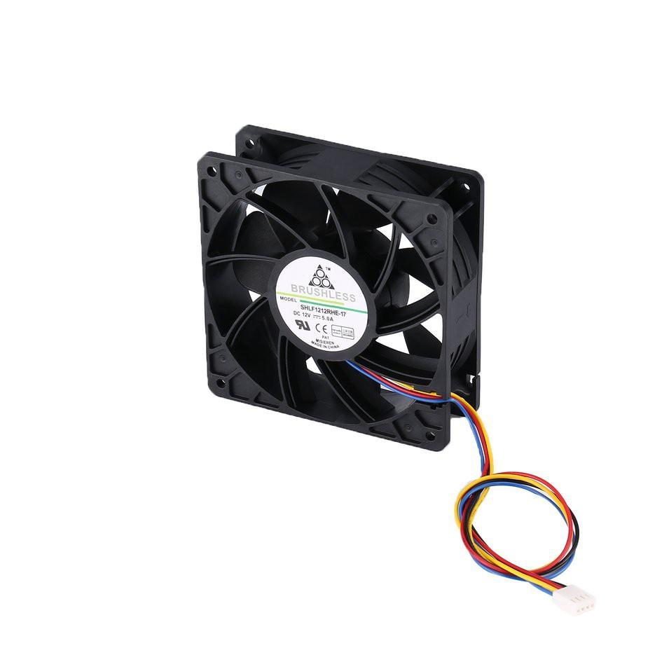 7500rpm Dc12V 5.0a 無刷礦工冷卻風扇, 用於 Antminer Bitmain S7 S9