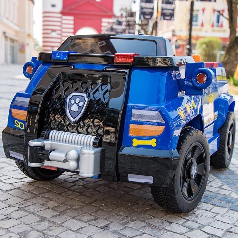 【F7J3】汪汪隊兒童電動車四輪遙控汽車嬰幼兒玩具車可坐人寶寶帶搖擺童車