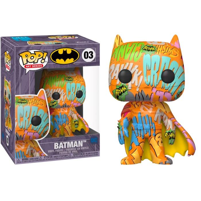 老夆玩具【現貨】FUNKO POP DC系列 #03 蝙蝠俠 藝術色 BATMAN 03 w/保護盒