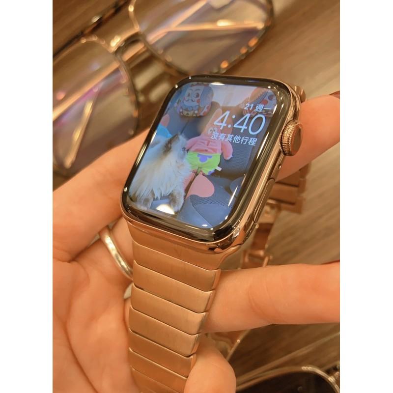 Apple Watch S5 不鏽鋼金色 LTE版