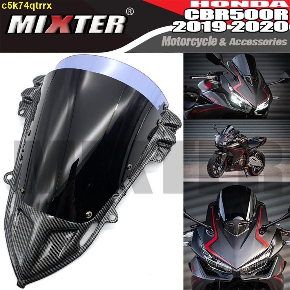 適合本田 HONDA CBR500R CBR500-R CBR500 R 2019-2020年 改裝前擋風玻璃擋風鏡風擋