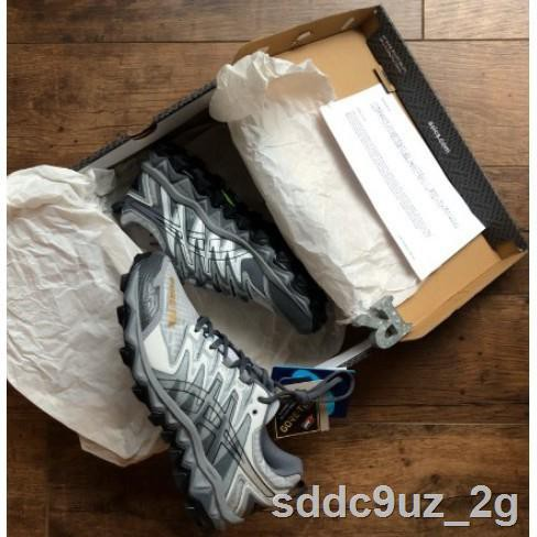 ┋❅ASICS BEAMS GEL FUJITRABUCO 7 GORE-TEX 白灰黑 G-TX 防水越野跑鞋