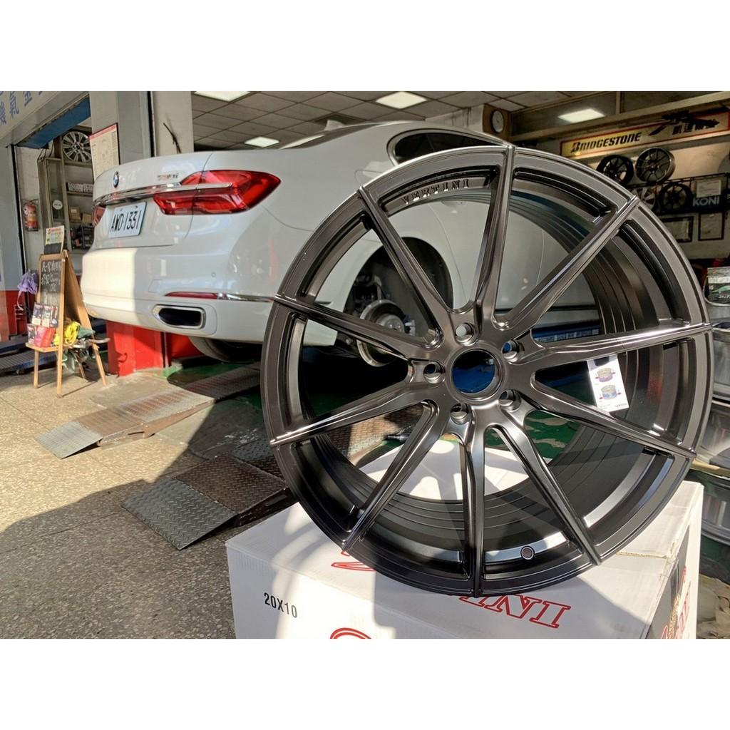 【凱達輪胎鋁圈館】VERTINI RFS1.1 20吋 5H112 前後配 旋壓輕量化圈 BMW G11 直上專用