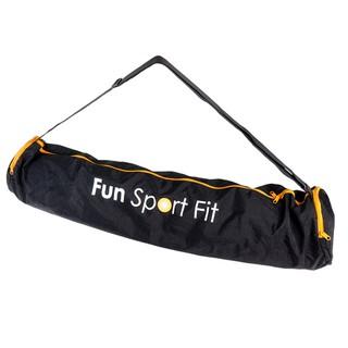 (2L加大款-黑-)莎布娜專業瑜珈背袋-Fun Sport fit(瑜珈袋/ 瑜珈背包/ 瑜珈收納袋/ 瑜珈墊背袋)