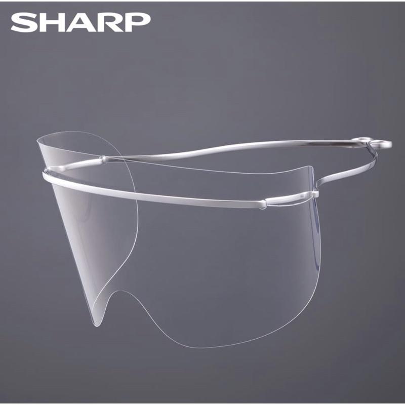 [全新品]正品現貨+預購SHARP夏普奈米蛾眼科技防護面罩/眼部專用